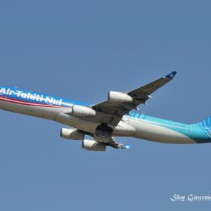 ◆ 青空を泳ぐ、その1「Air Tahiti Nui」(2021年1月)