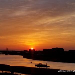 ◆ 「日の出@多摩川」(2021年2月)