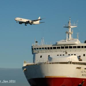 ◆ もう会えない飛行機たち、その68「フェリーとともに」(2004年10月 )