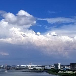 ◆ 「夏空」@多摩川(2021年7月)