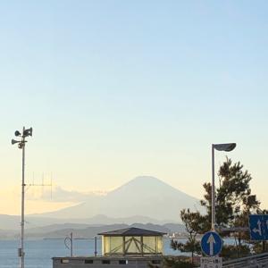富士山とサンセット。
