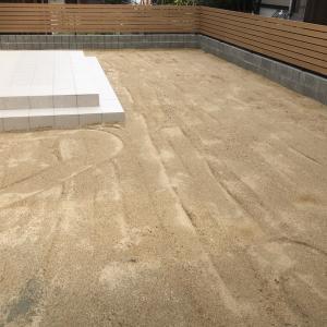 【DIY】芝生の土作り