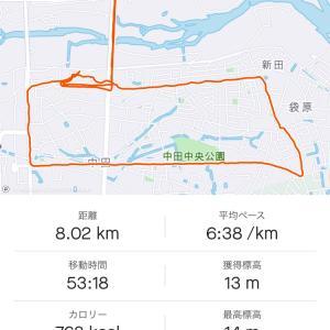 今日もなんとか走れた。