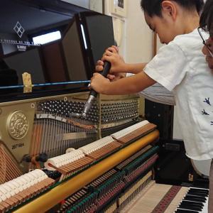 ピアノ解体ショー カワイ 山口