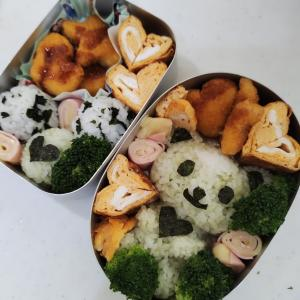 幼稚園お弁当&ルイヴィトンのエコバッグ