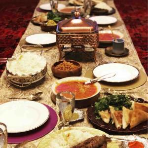 アラブ料理で家族でおもてなし