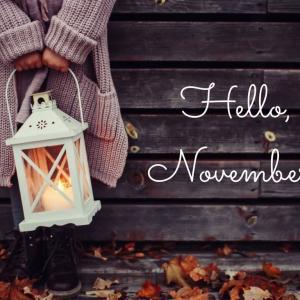 11月になりました~♡残すところ2か月