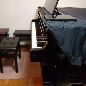 ピアノの調律と、手抜き満載のおかず