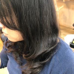 多毛のストレートデジタルパーマ