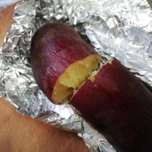 《【節約】1本50円以下でお店みたいな焼き芋が作れる!大量生産してます(^^)》