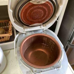 《炊飯器の汚れやにおいのお掃除方法をアップしました!》