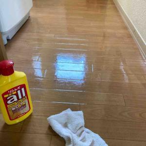《床が滑りやすくなったらワックスがけ!ロボット掃除機で時短》