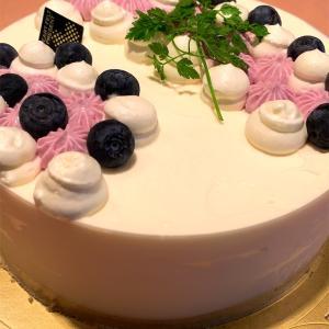 20周年祝いで手作りケーキいただきました