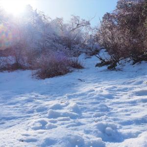 残雪期の石鎚山登山ハイライト