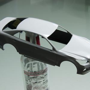 製作記 アオシマ 1/24 GSR214 クラウン パトカー (8)