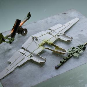 製作記 タミヤ 1/48 ロッキード P-38 F/G ライトニング (1)