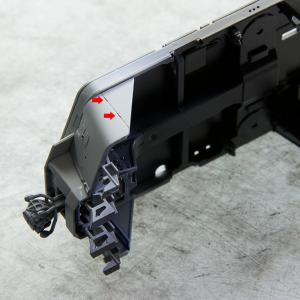 製作記 アオシマ 1/45 EF66 (12)