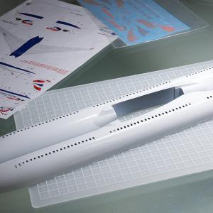 製作記 Zvezda 1/144 エアバス A350-1000 (4)