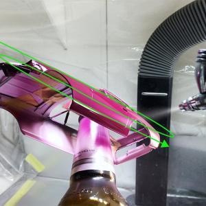 タミヤ 240ZG の塗装についての補足的なこと
