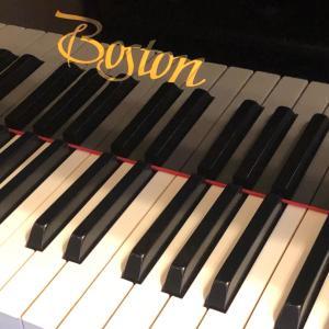 ボストンピアノ入りました