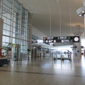 広島空港でランチと八天堂、ガストでテイクアウト