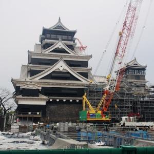 復興に向け 熊本城