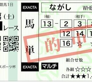 【10万馬券】2020 函館日刊スポーツ杯 万券11th (191st)