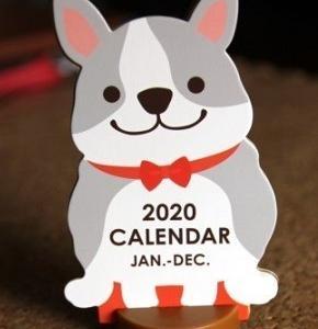 daisoフレブル卓上カレンダー