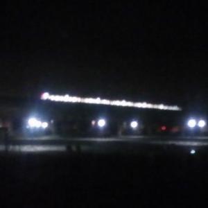 来春から営業運転を開始するTX3000系が深夜に試運転をしていた!