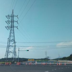 新都市中央通りの新豊年橋西交差点付近の工事がほぼ完成していた!