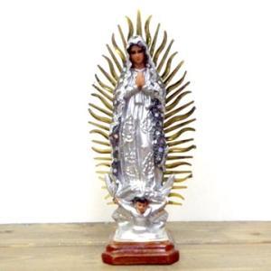 メキシコ マリア グアダルーペ 置物 23cm カラー デコVer