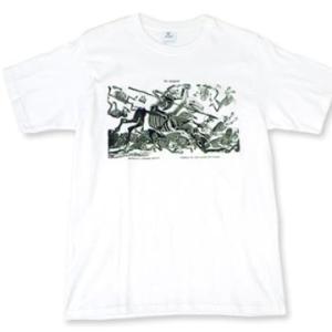 メキシコ カラベラ 骸骨 スカル ポサダ ドン・キホーテ Tシャツ