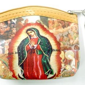 メキシコ マリア グアダルーペ デザイン コインパース 小銭入れ ミニポーチ