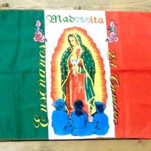 メキシコ マリア グアダルーペ インテリア ミニサイズ フラッグ タペストリー