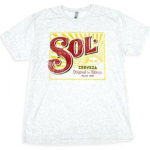 メキシコ ビール SOL デザイン Tシャツ