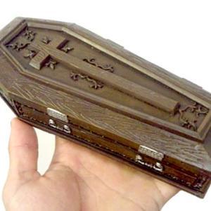 棺桶 バンパイア コフィン 棺 インテリア ケース