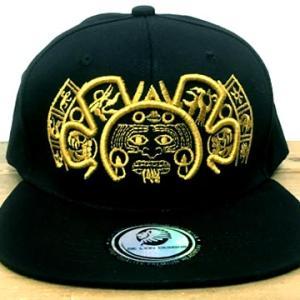 メキシコ アステカ カレンダー デザイン キャップ 帽子