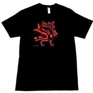 メキシコ アステカ神話 ケツァルコアトル メキシカン デザイン Tシャツ