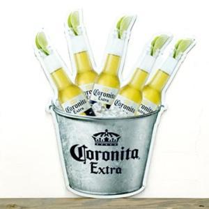 コロナ メタル サイン プレート ボトル コロナバケツ メキシカン ビール corona