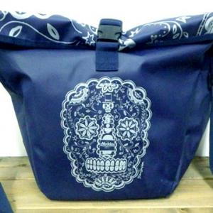メキシコ ビール モデロ シュガースカル カラベラ スカル 骸骨 イラスト メッセンジャーバッグ