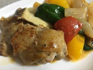 簡単!! 鶏もも肉と夏野菜のグリル