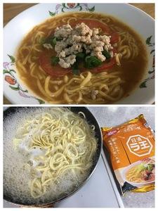 22(21)cmフライパン活用法…袋麺・パンケーキ・その他