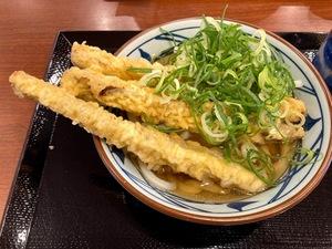 畑帰りのランチ放浪記…丸亀製麺編