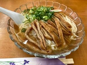 真夏日が復活した瞬間に食べた 冷やしきつね素麺
