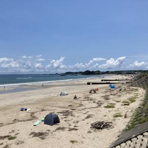 阿児の松原海水浴場と賢島の宿みち潮