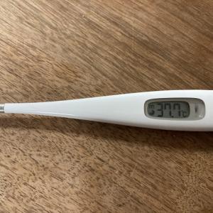 ワクチン接種一回目:長男は39度の発熱は時間差の副反応か?