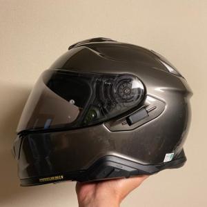 最新の愛用ヘルメット