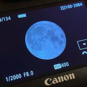 中秋の名月 撮ってみた