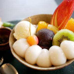 【鎌倉】注文が入ってから茹でるもちもちの巨大白玉に悶絶「茶房 雲母」