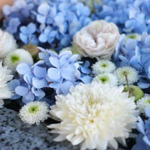 【川越】小江戸・川越の鎮守「川越八幡宮」にて今年最後の紫陽花花手水